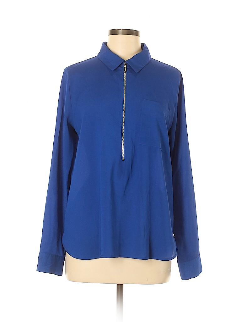 Calvin Klein Women Long Sleeve Blouse Size M