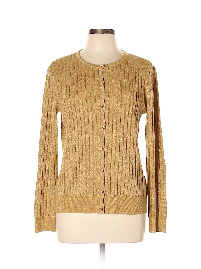 New York & Company Women Cardigan Size L