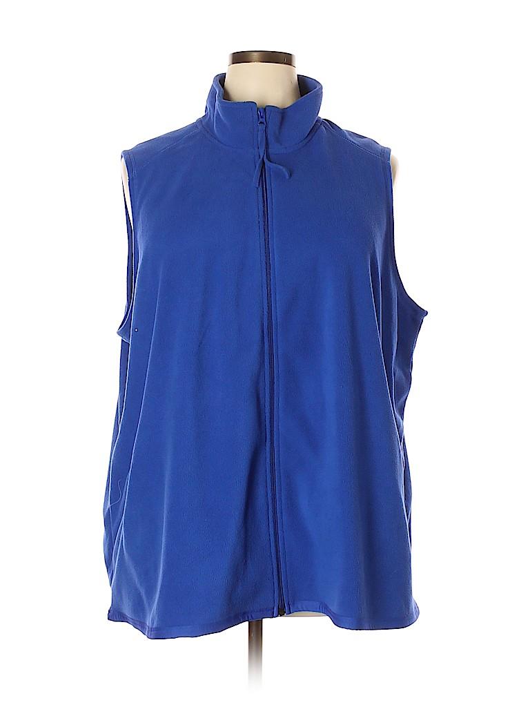 Woman Within Women Vest Size 26 (2X) (Plus)