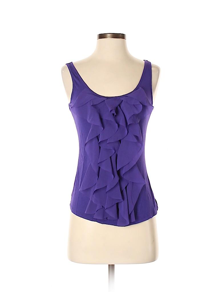 New York & Company Women Sleeveless Blouse Size S