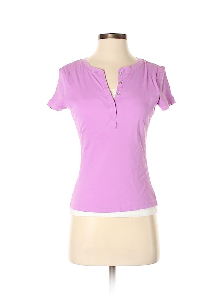 Style&Co Women Short Sleeve T-Shirt Size S