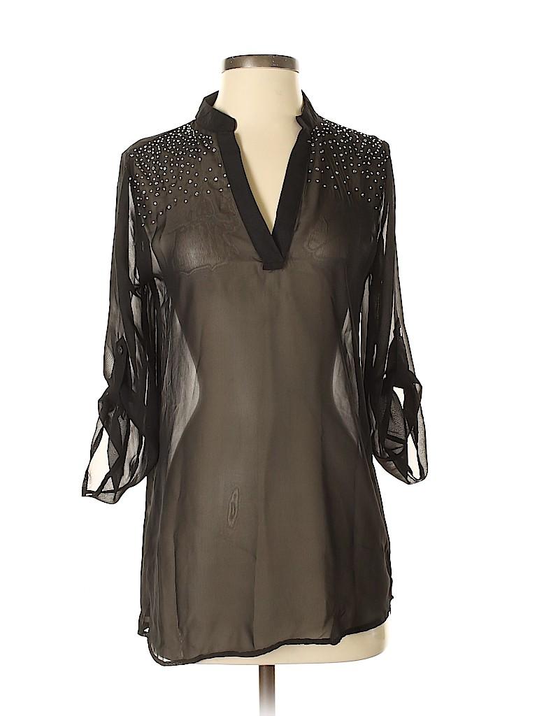 Rue21 Women 3/4 Sleeve Blouse Size S