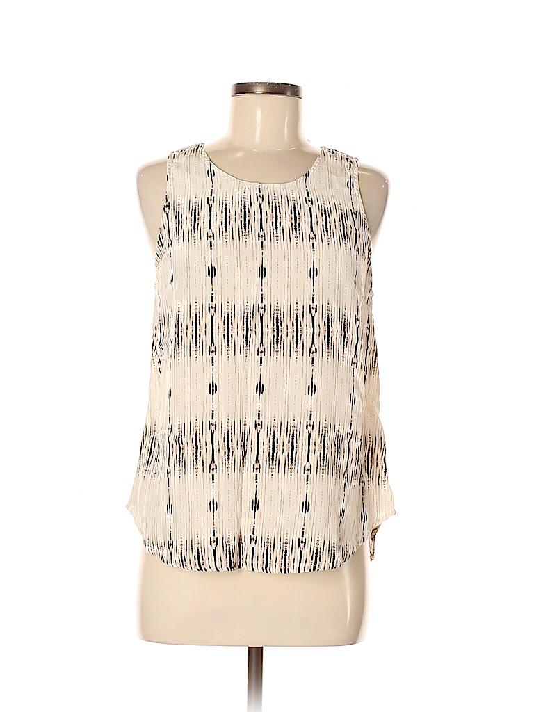 Cynthia Rowley TJX Women Sleeveless Silk Top Size M