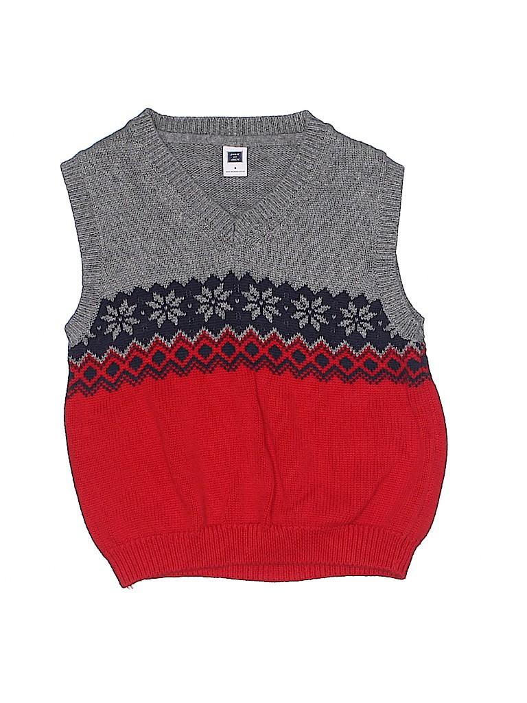 Janie and Jack Boys Sweater Vest Size 3