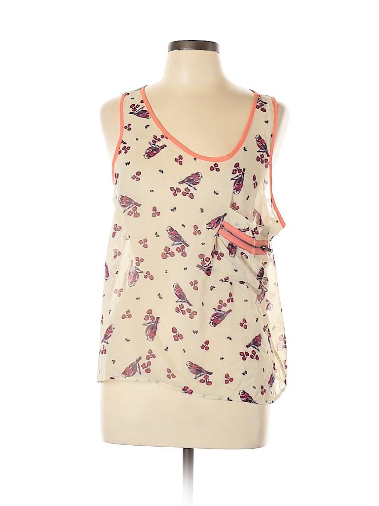 Audrey Women Sleeveless Blouse Size L