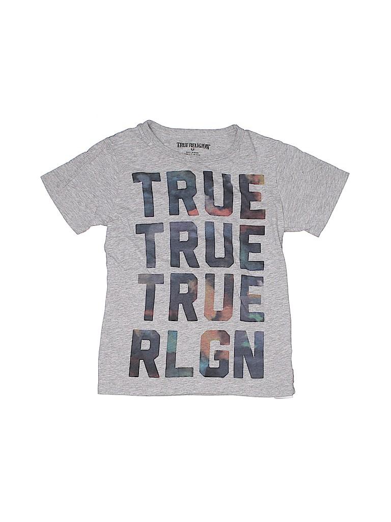True Religion Boys Short Sleeve T-Shirt Size 7