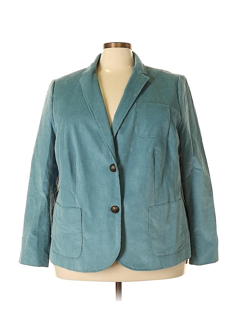Talbots Women Blazer Size 22 (Plus)