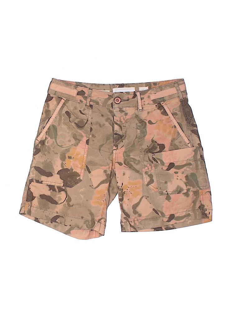 Hei Hei Women Khaki Shorts Size 24 (Plus)