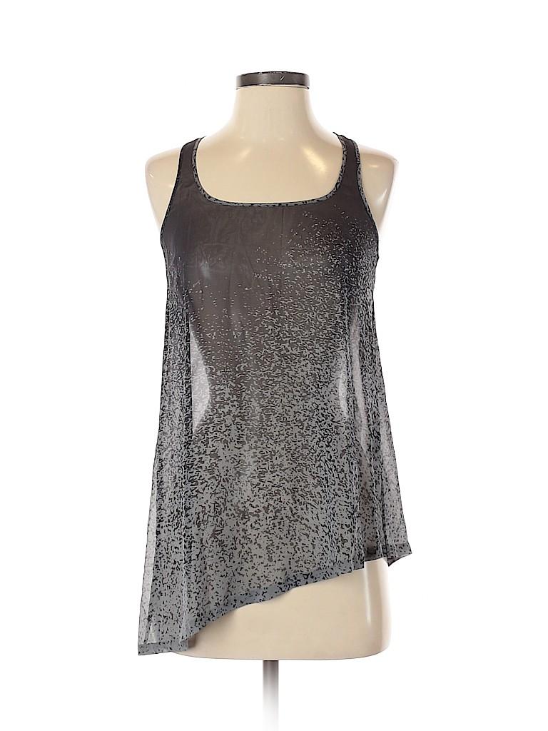 Club Monaco Women Sleeveless Silk Top Size XS