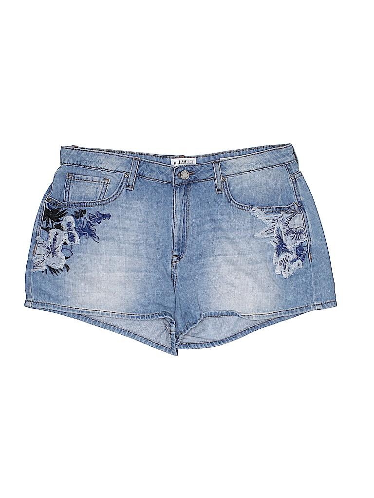 William Rast Women Denim Shorts 32 Waist