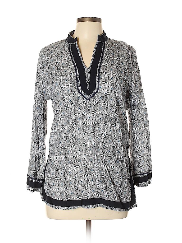 Rose & Thyme Women Long Sleeve Blouse Size L