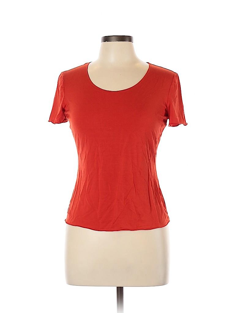 Armani Collezioni Women Short Sleeve T-Shirt Size 10