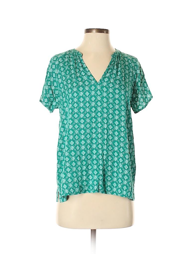 Old Navy Women Short Sleeve Blouse Size S