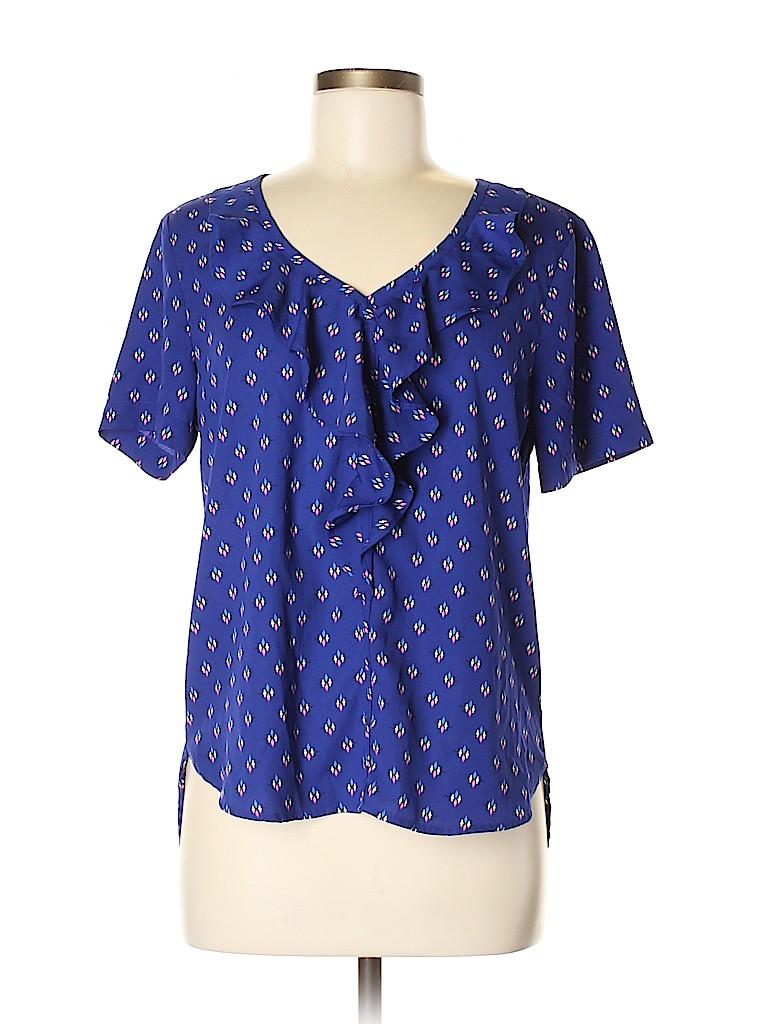 19 Cooper Women Short Sleeve Blouse Size M