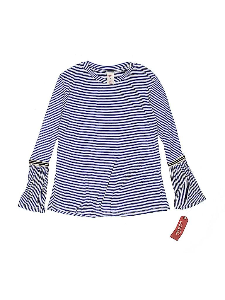 Arizona Jean Company Girls Long Sleeve Top Size 14