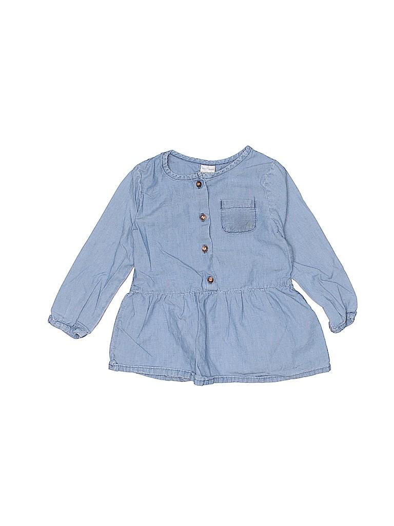 Carter's Girls Long Sleeve Blouse Size 18 mo