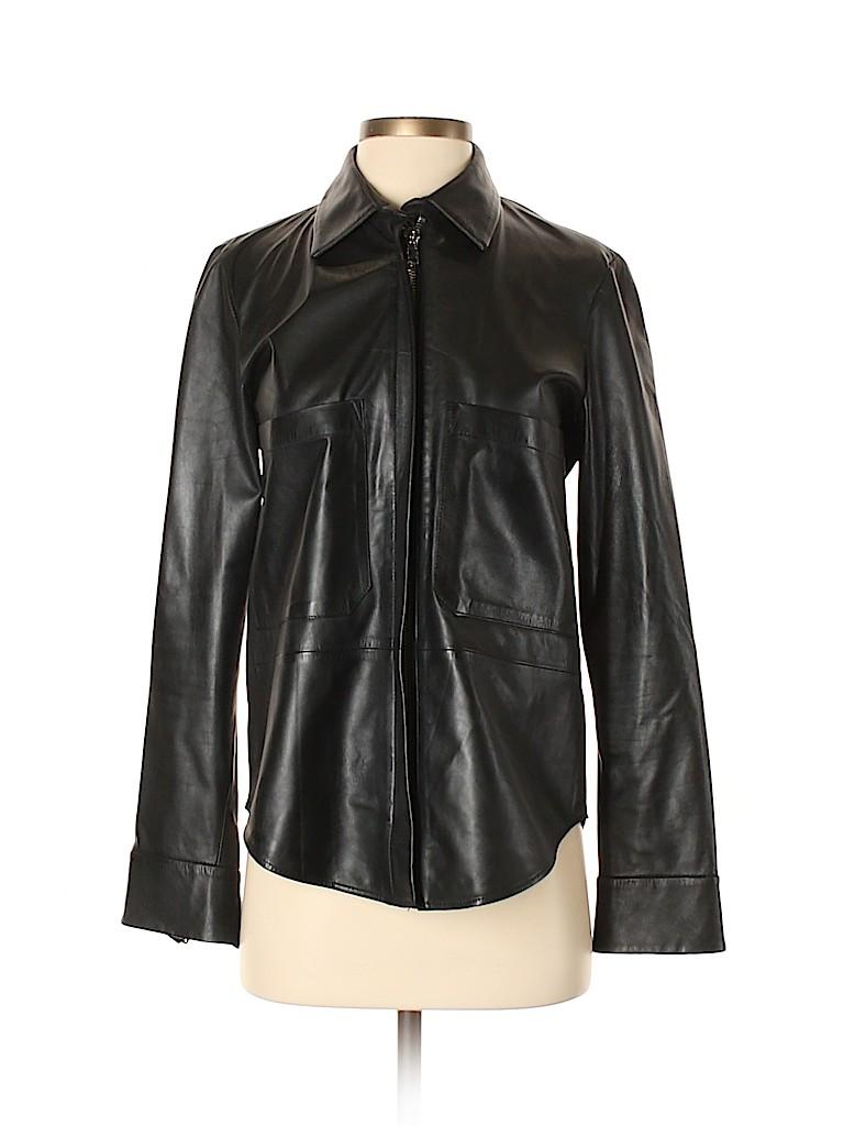 Zara Women Faux Leather Jacket Size S