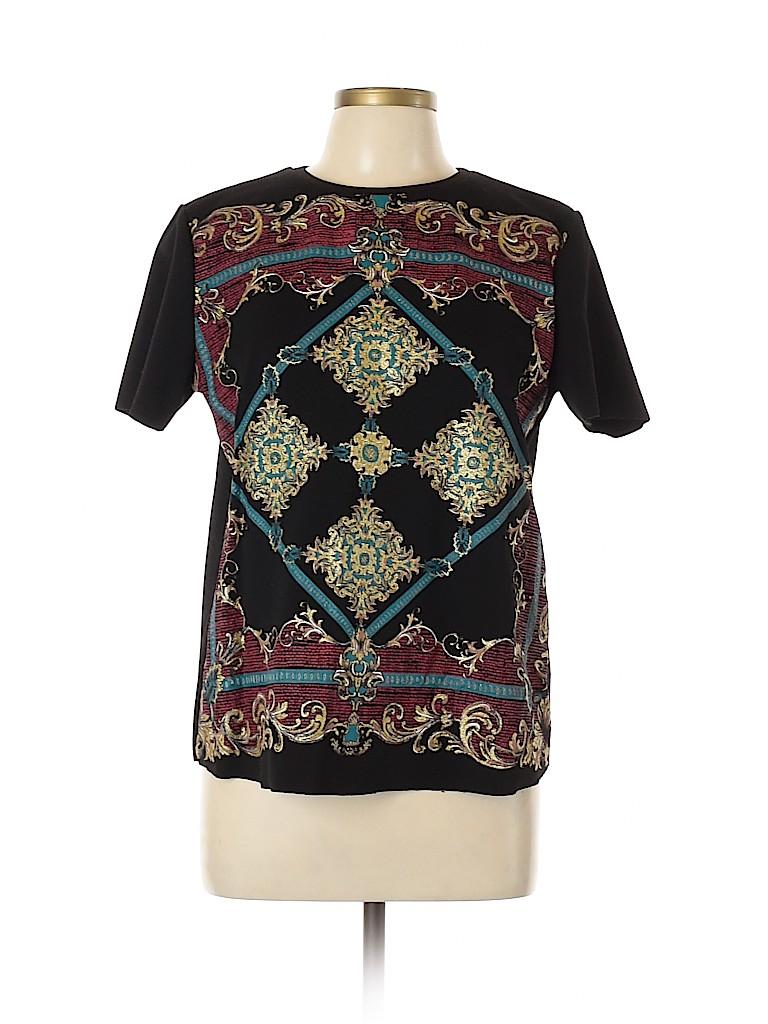 Zara Basic Women Short Sleeve Top Size L