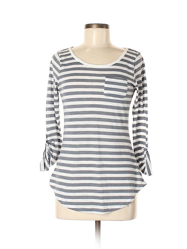 Derek Heart Women Long Sleeve T-Shirt Size L