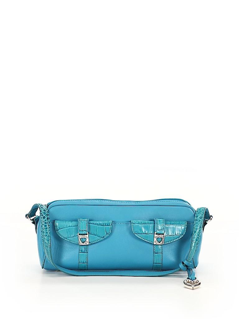 Brighton Women Leather Shoulder Bag One Size