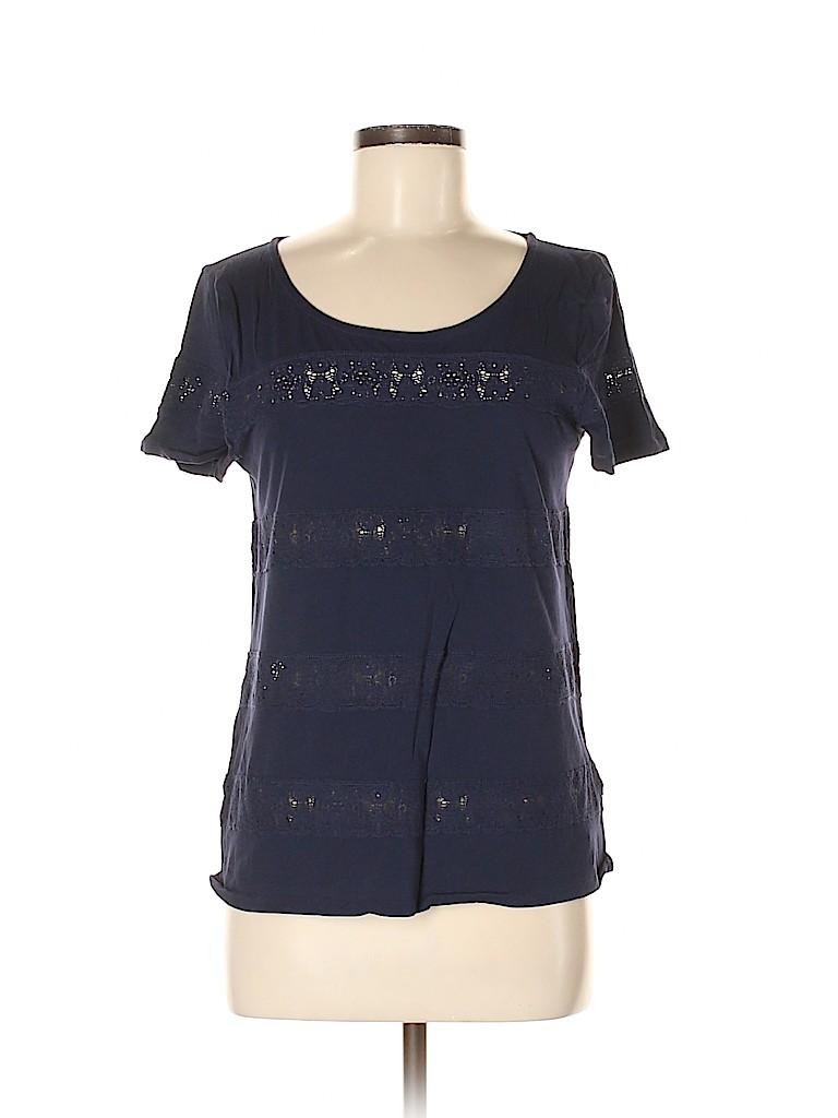 J. Crew Women Short Sleeve Blouse Size M