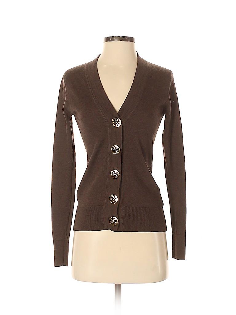 Tory Burch Women Wool Cardigan Size XS