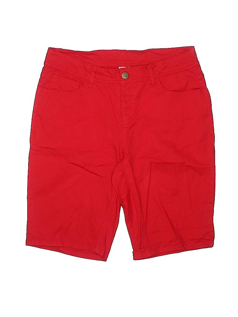 Faded Glory Women Denim Shorts Size 14