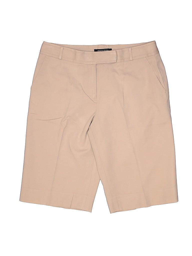 Etcetera Women Khaki Shorts Size 8