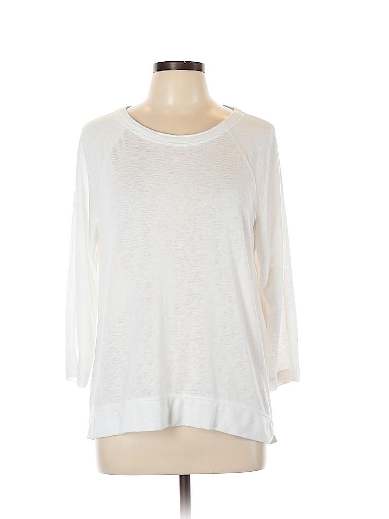 Ann Taylor LOFT Women 3/4 Sleeve T-Shirt Size L