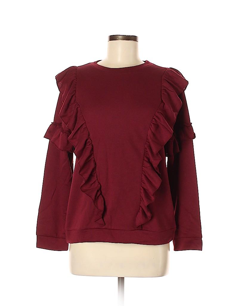 Charming Charlie Women Sweatshirt Size M