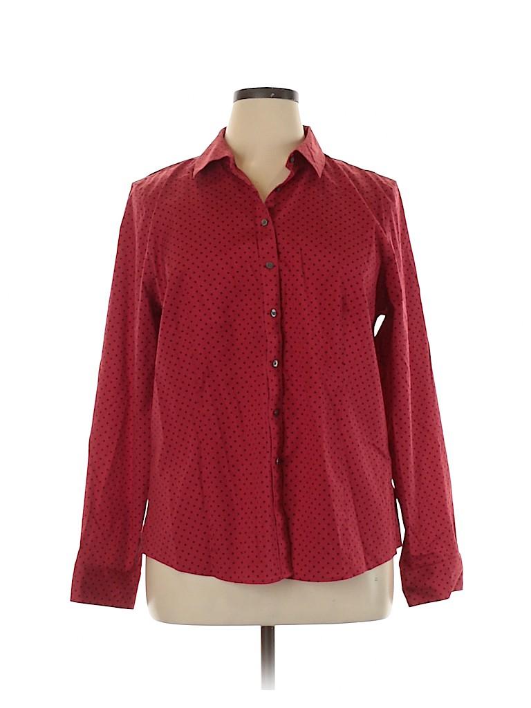 Talbots Women Long Sleeve Blouse Size 20 (Plus)