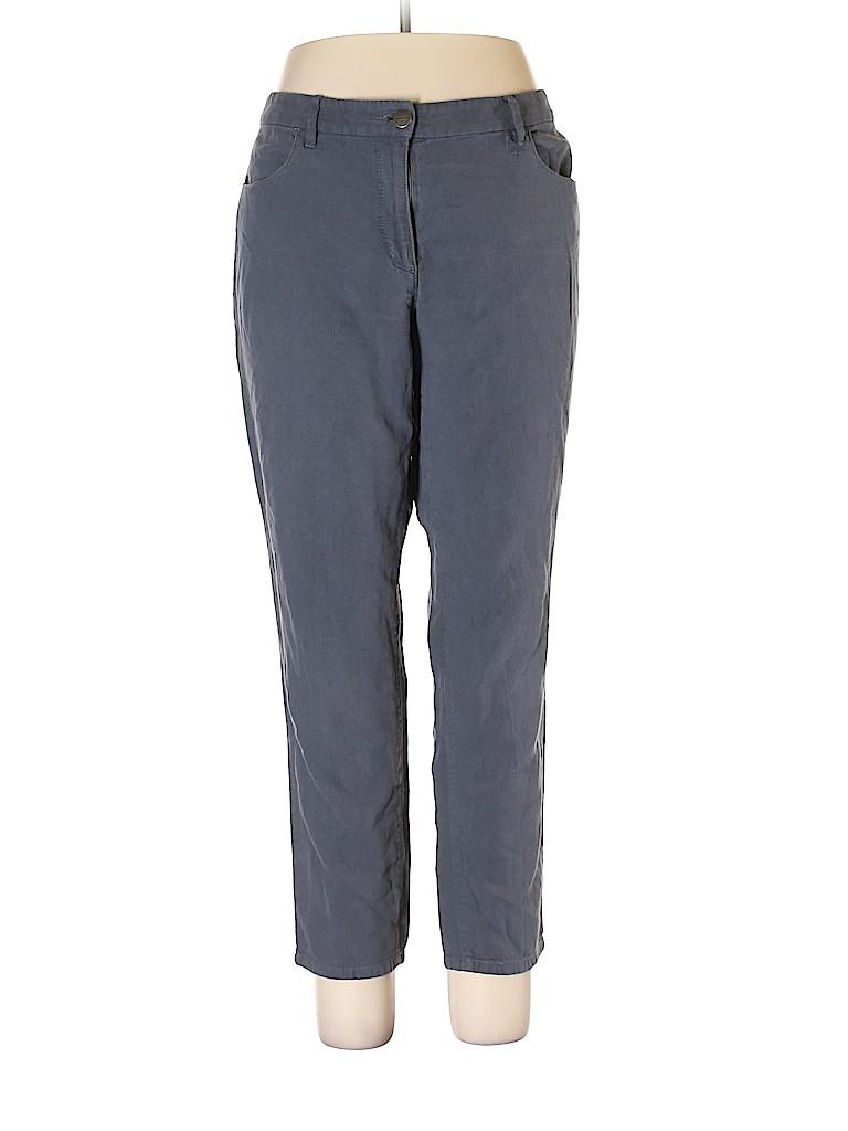 Ann Taylor LOFT Women Linen Pants Size 12