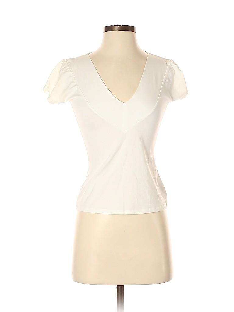 Max Mara Women Short Sleeve Top Size S