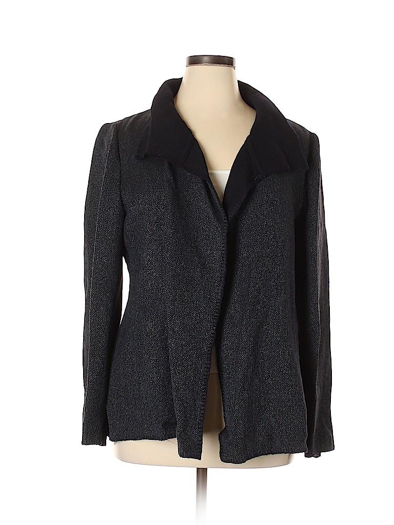Ellen Tracy Women Wool Cardigan Size XL