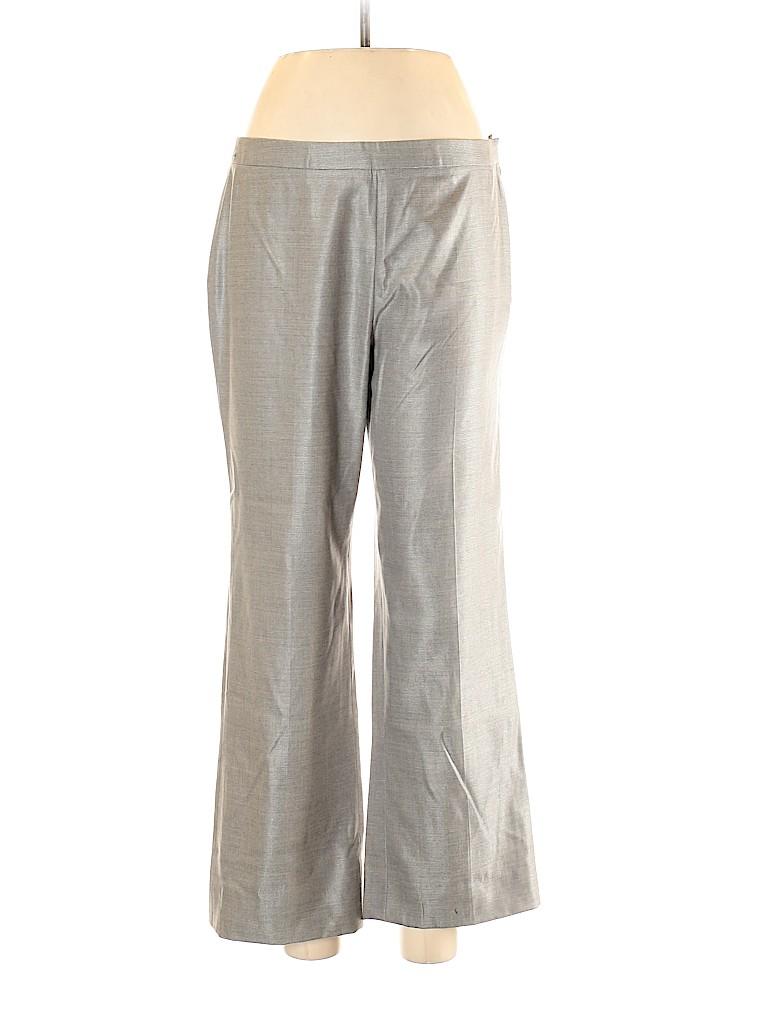 RENA LANGE Women Wool Pants Size 10