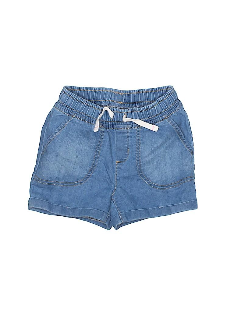Jumping Beans Girls Denim Shorts Size 5T