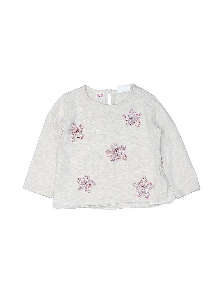 Zara Baby Girls Long Sleeve T-Shirt Size 12-18 mo