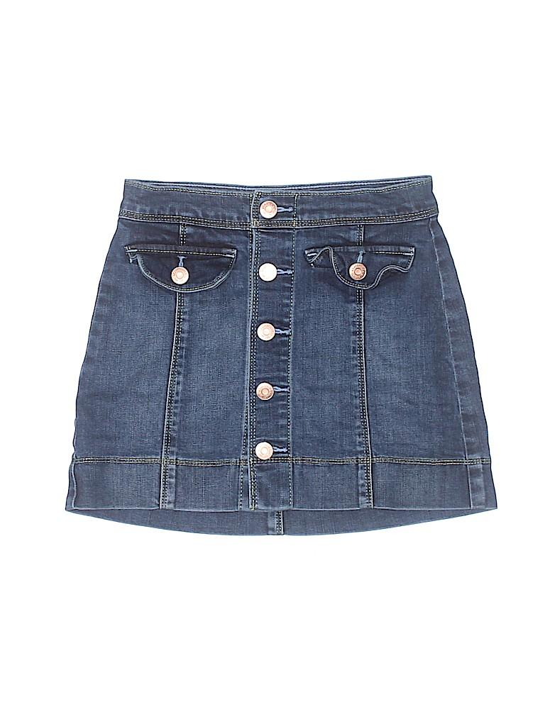 Abercrombie Girls Denim Skirt Size 9 - 10