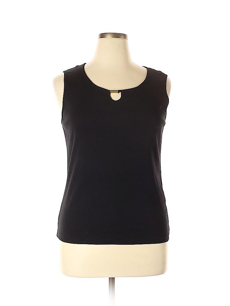 Karen Scott Women Sleeveless Top Size XL