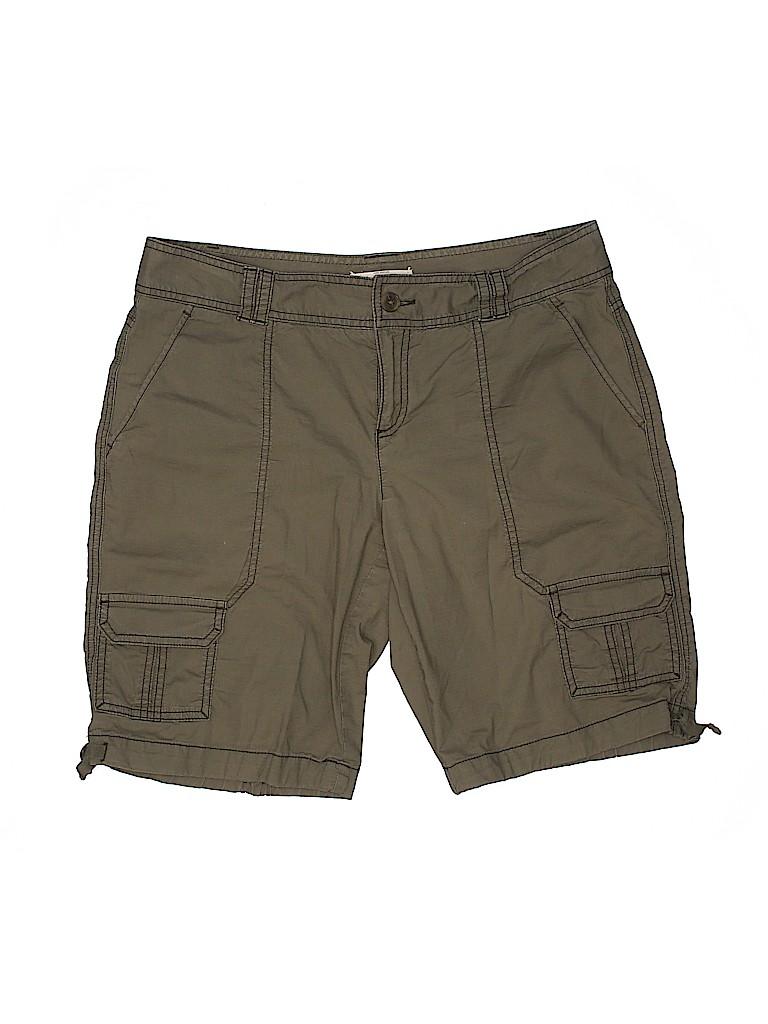 Ann Taylor LOFT Women Cargo Shorts Size 8