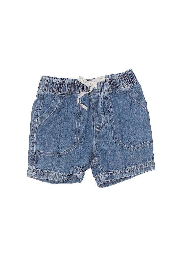 Jumping Beans Girls Denim Shorts Size 12 mo