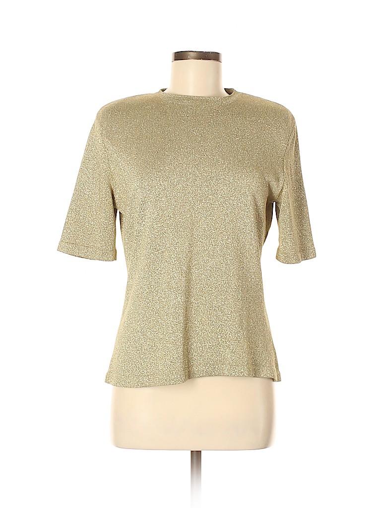 Carlisle Women Short Sleeve Top Size M