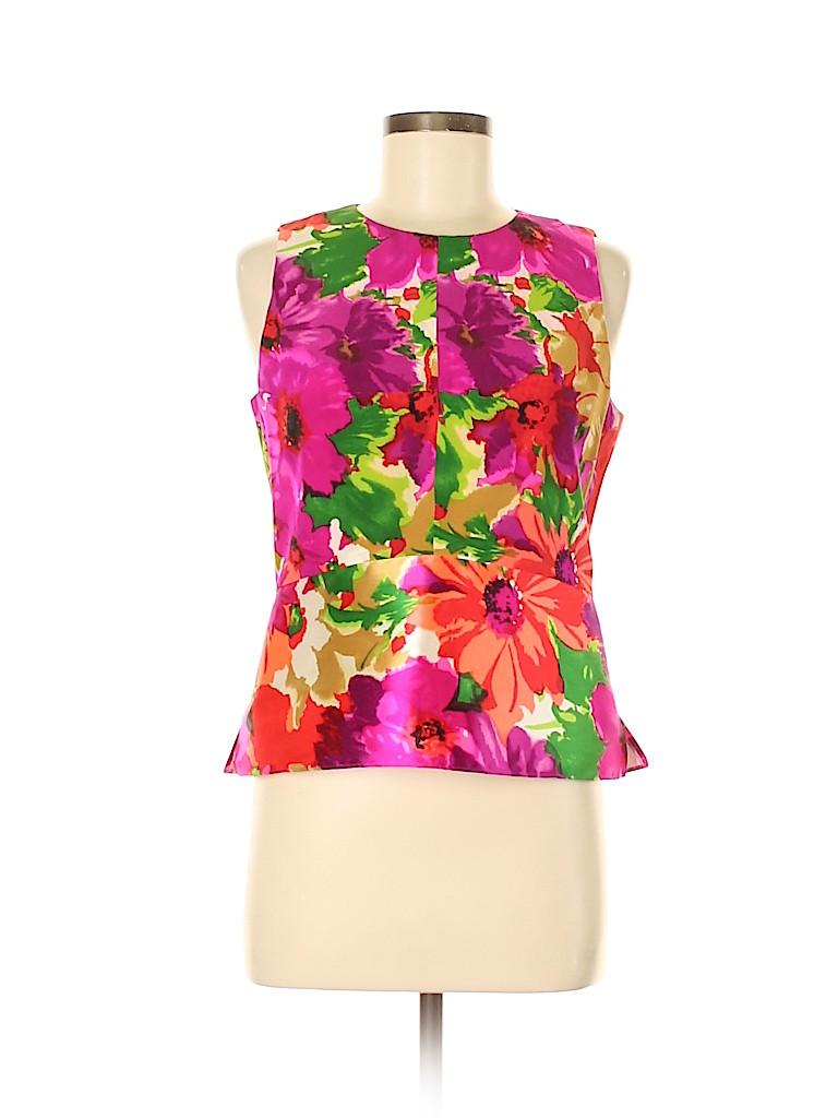 Balenciaga Women Sleeveless Silk Top Size 42 (IT)