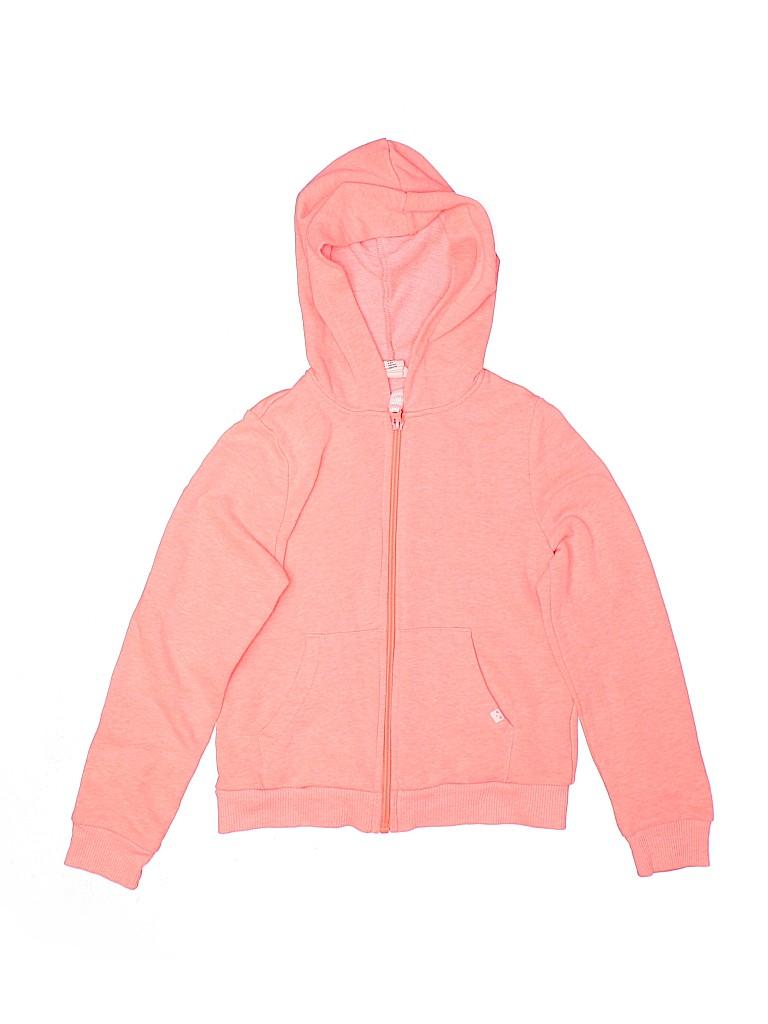 H&M Girls Zip Up Hoodie Size 6 - 8