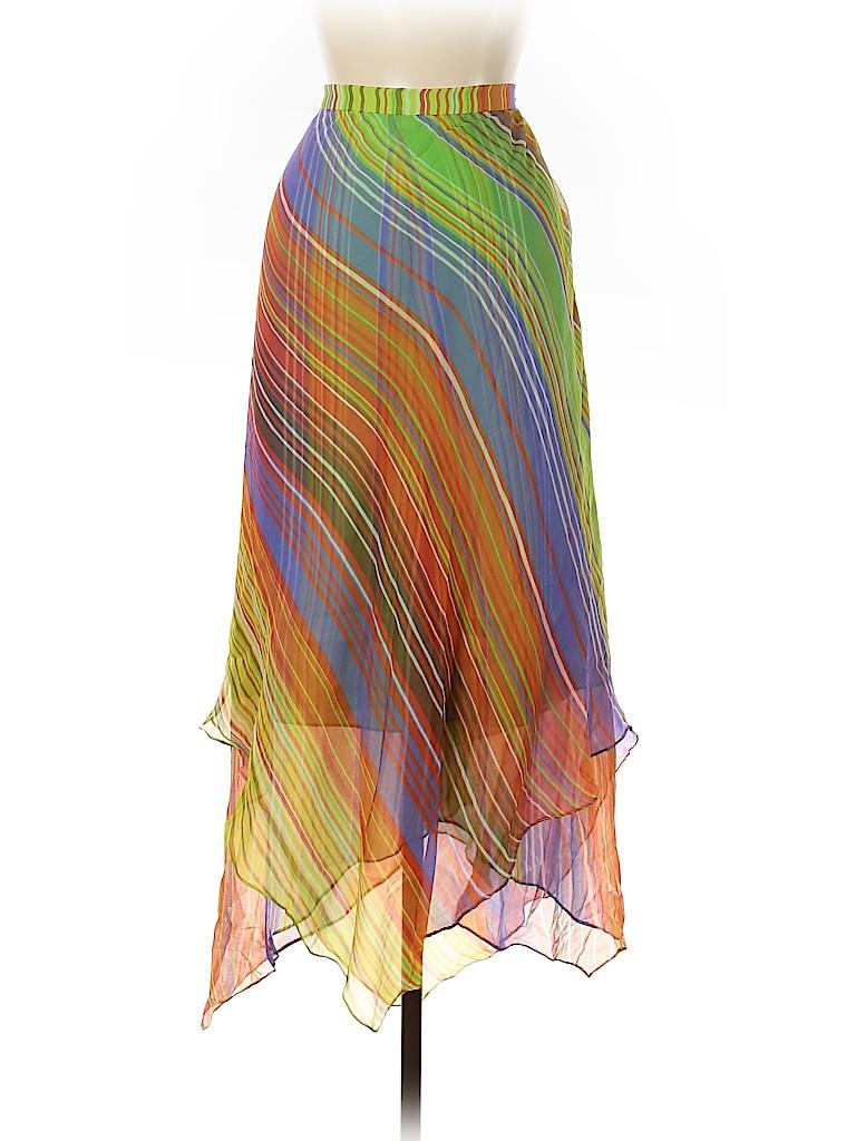 Dana Buchman Women Silk Skirt Size 9
