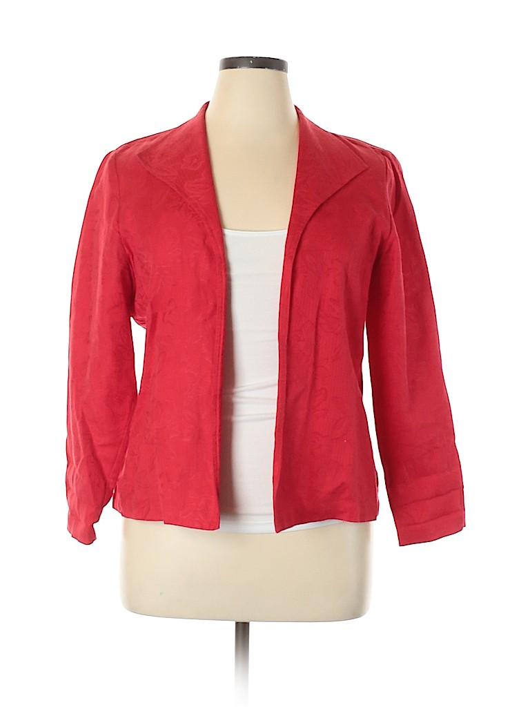Coldwater Creek Women Jacket Size L (Petite)