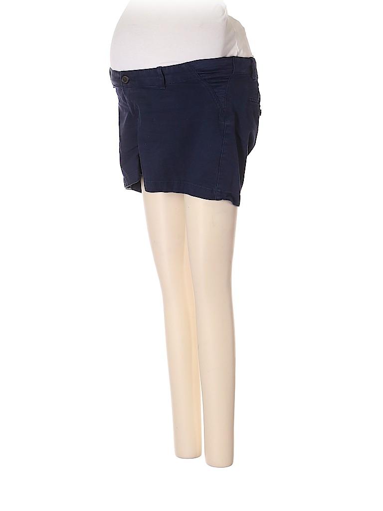 Gap - Maternity Women Khaki Shorts Size 0 (Maternity)