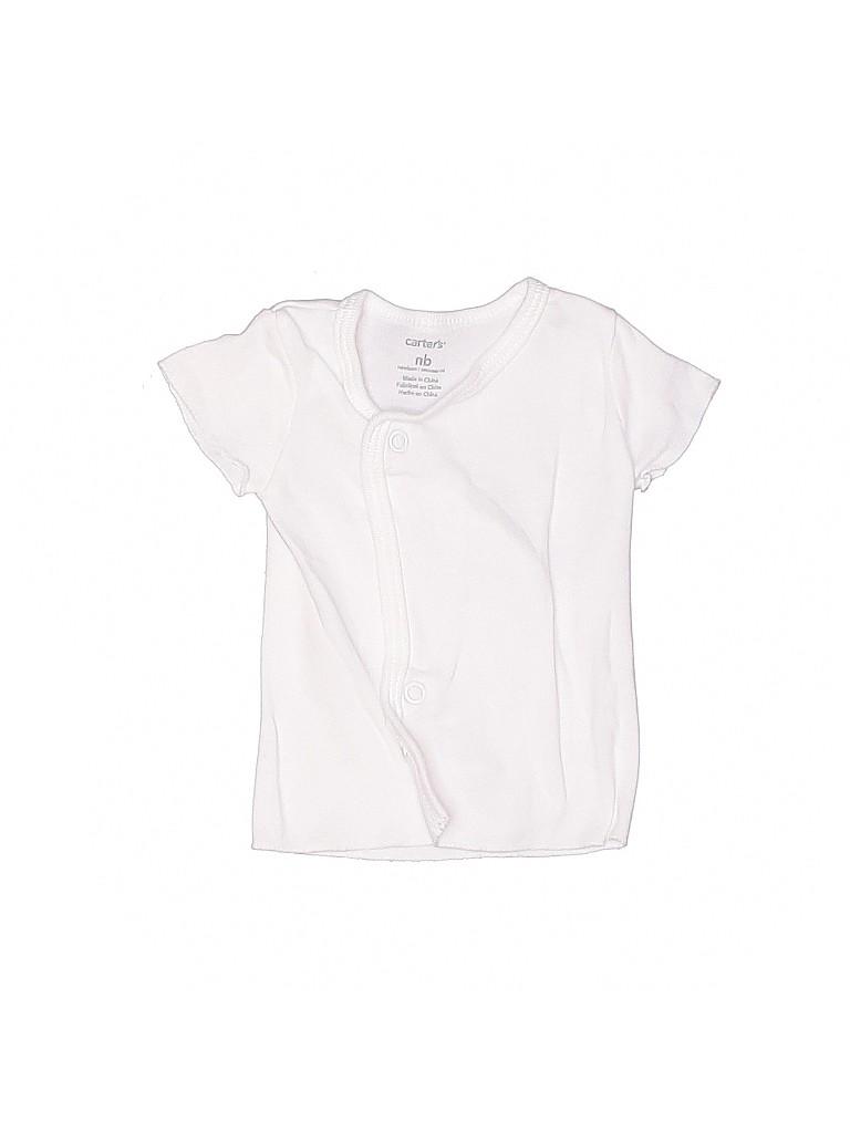 Cat & Jack Boys Short Sleeve T-Shirt Newborn