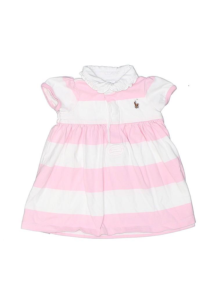 Ralph Lauren Girls Short Sleeve Polo Size 6 mo