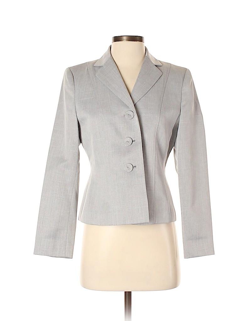Le Suit Women Blazer Size 4 (Petite)